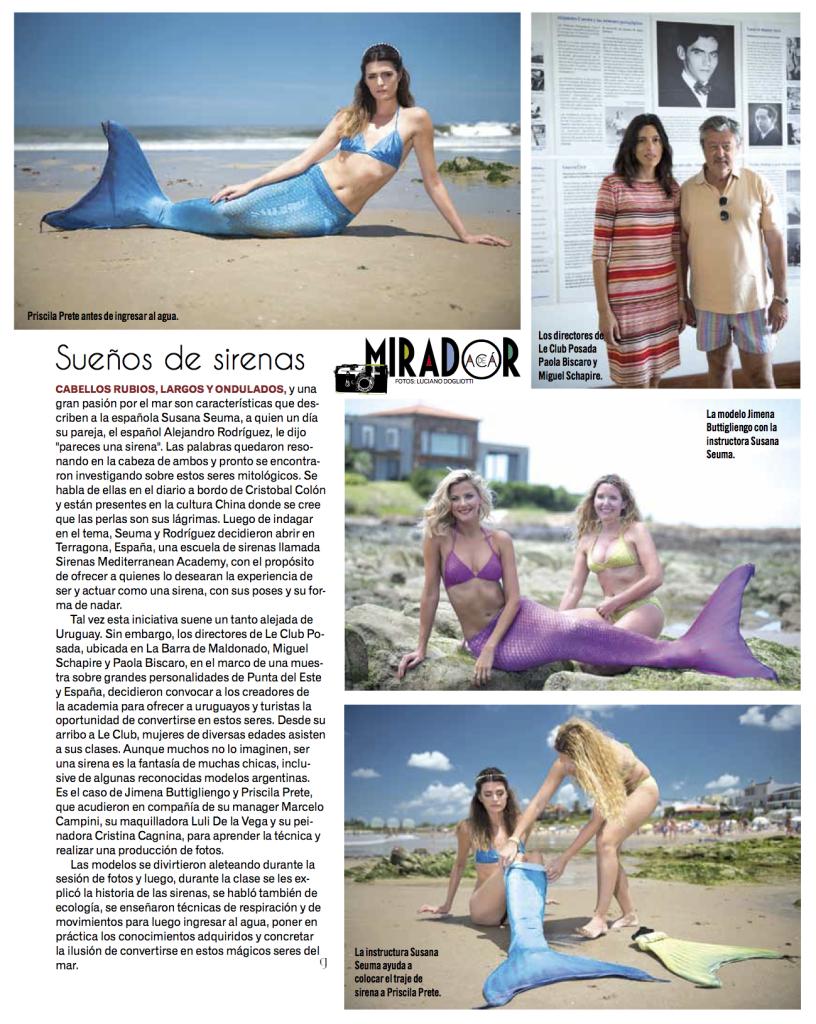 Sirenas Mediterranean Academy en Punta del Este.